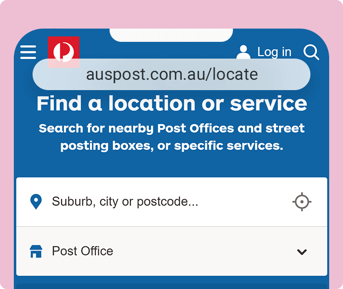 post office box near me