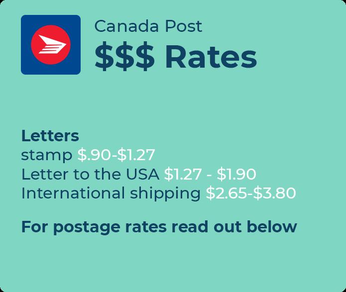 canada post international rates