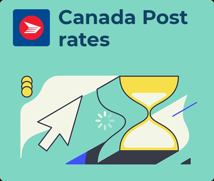 canada post rates