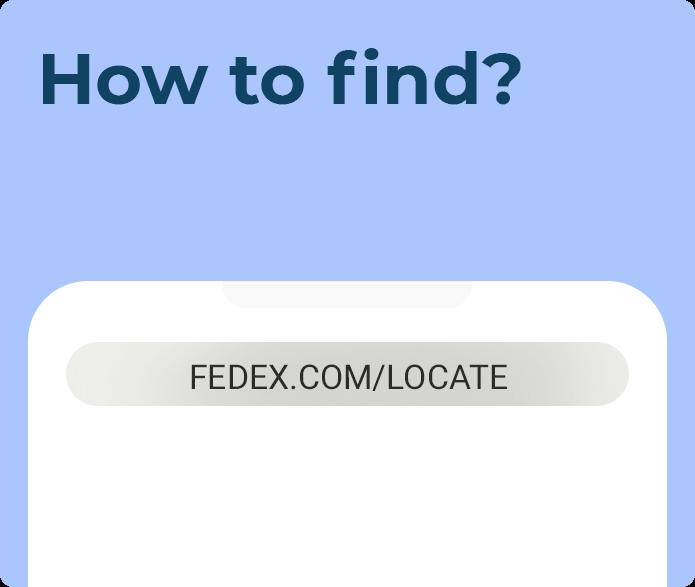 closest fedex location