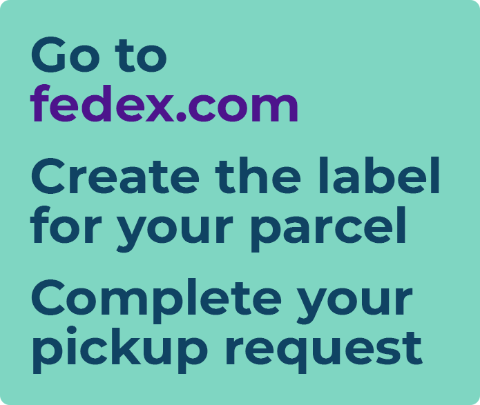 fedex arrange pickup