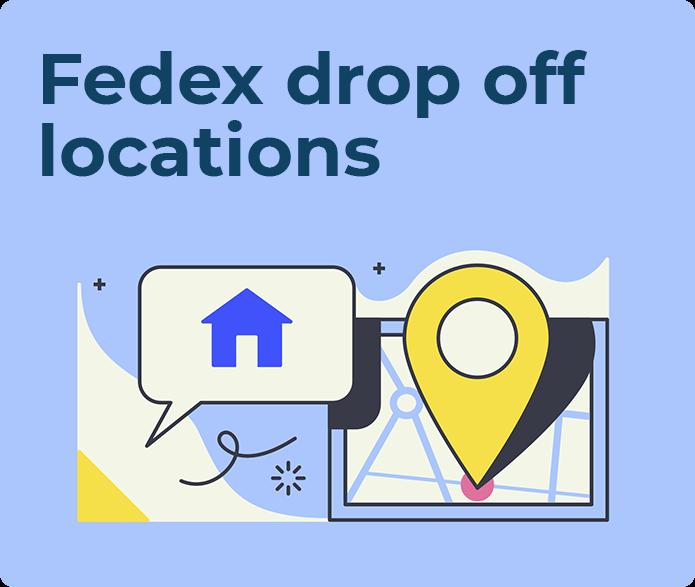 fedex drop off locations