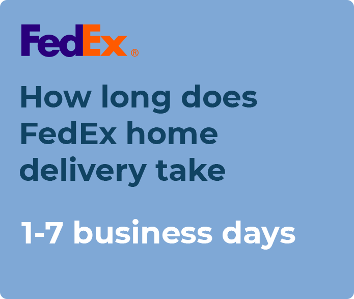 fedex ground home delivery