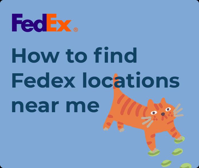fedex ground locations near me
