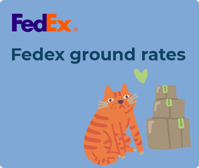 fedex ground rates