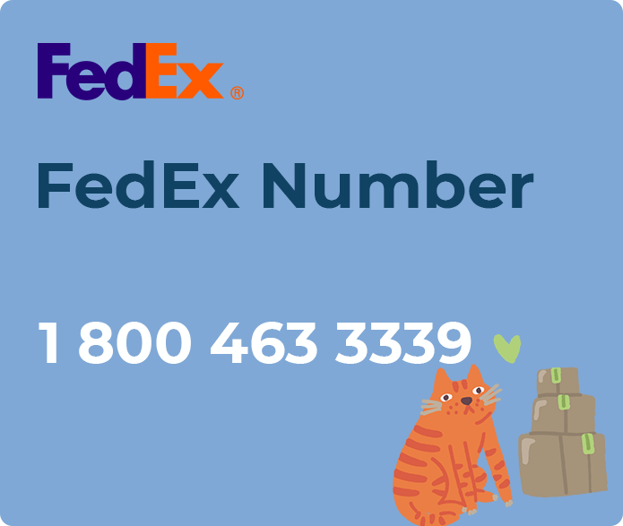 fedex number
