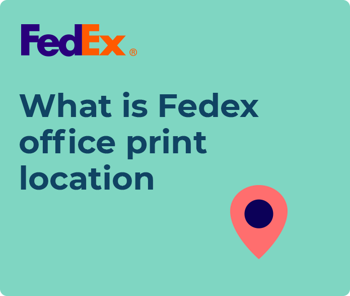 fedex office print and ship