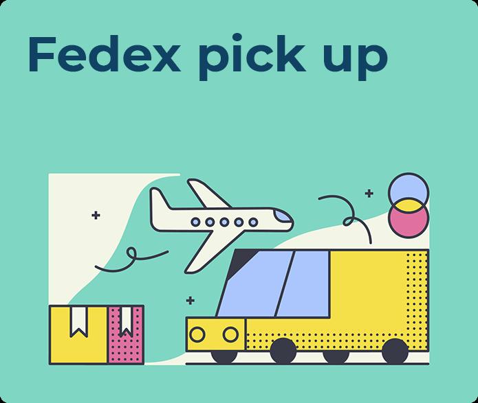 fedex pickup
