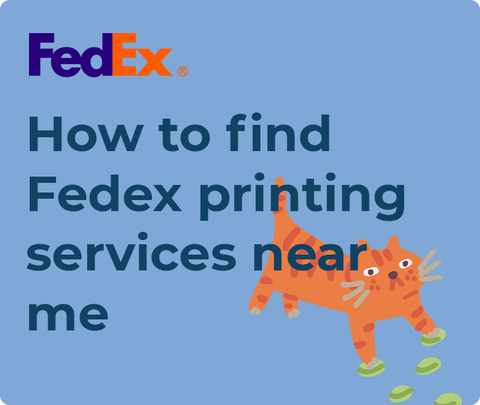 fedex printing near me