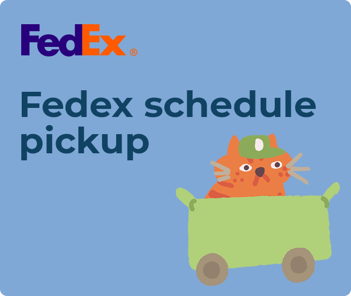 fedex schedule pickup