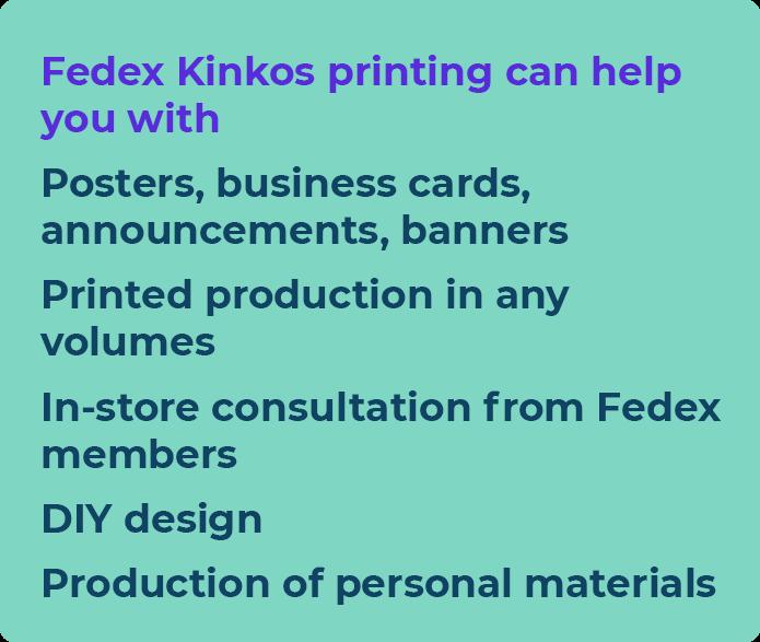 kinkos printing cost