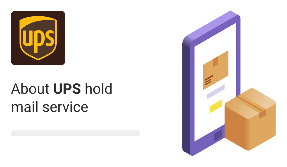 UPS Hold Mail