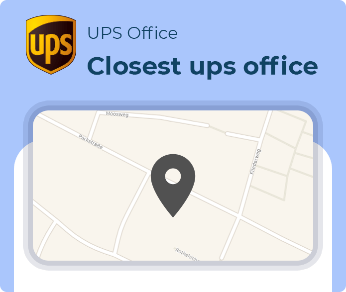closest ups office