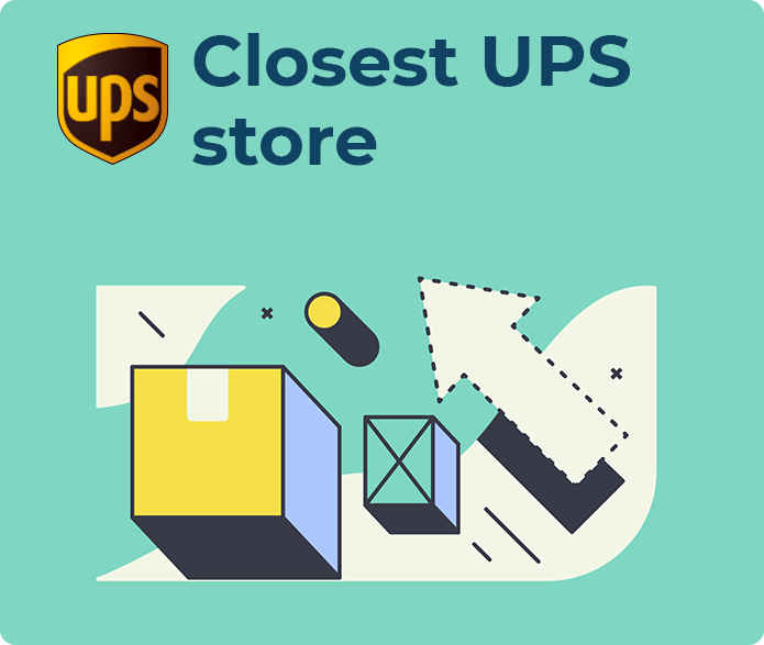 closest ups store