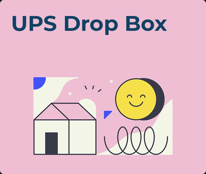 ups drop box