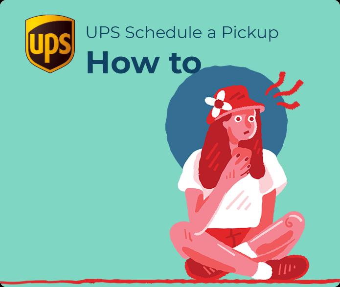 ups freight schedule pickup