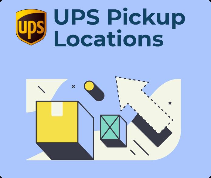 ups pickup locations
