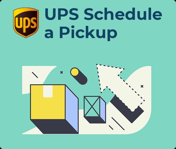ups schedule a pickup