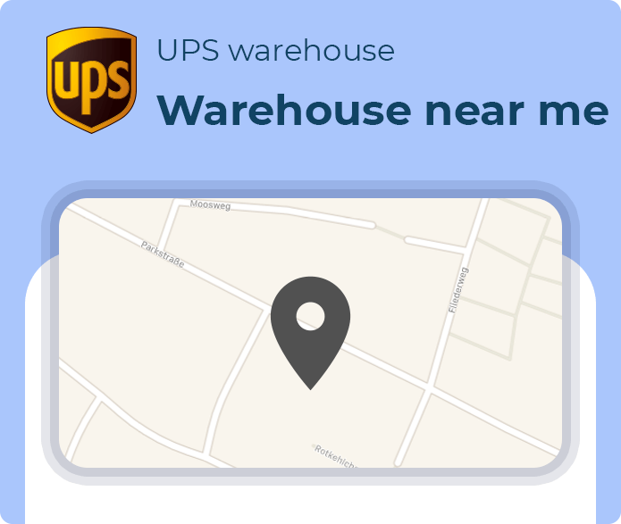ups warehouse number