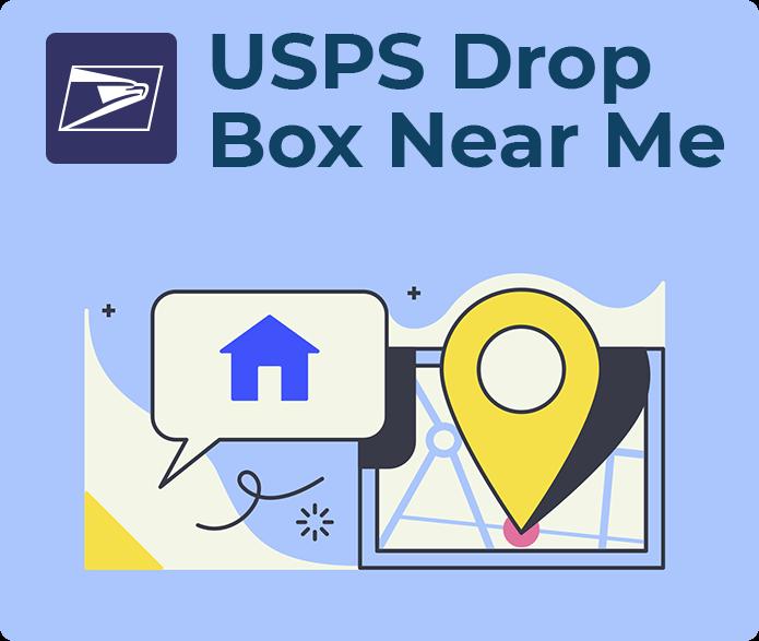 usps drop box near me