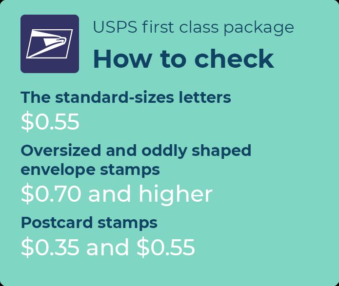 usps envelope postage rates
