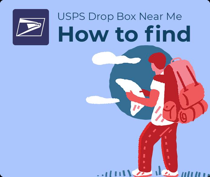 usps mail drop box near me