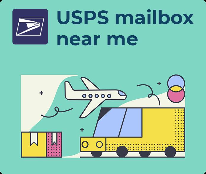 usps mailbox near me