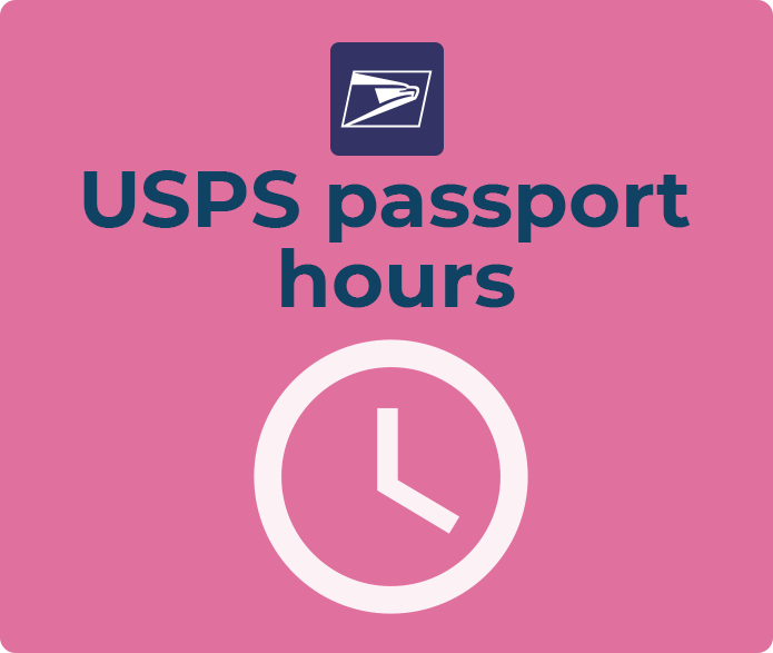 usps passport hours