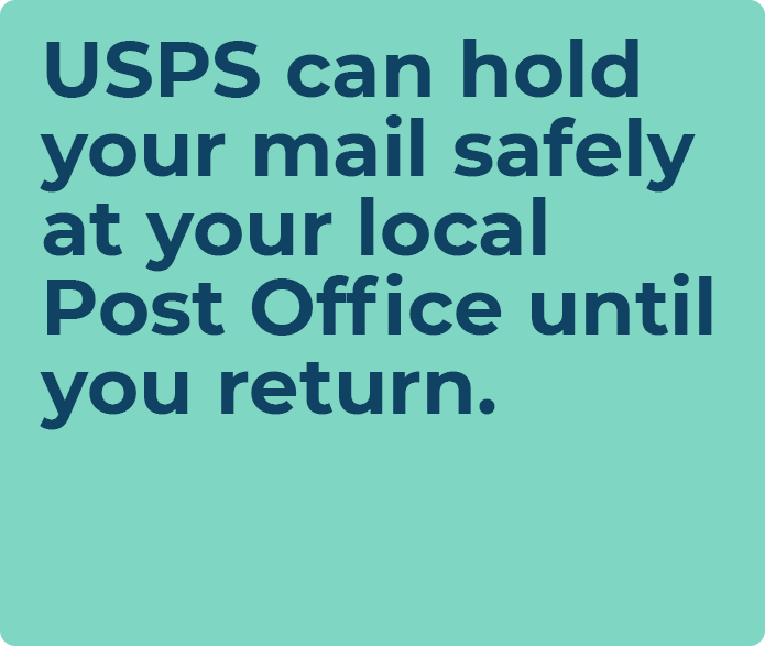 usps put mail on hold